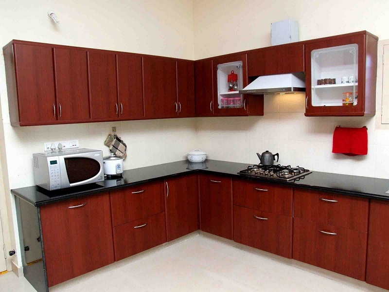 The simple kitchen design for small house in the world